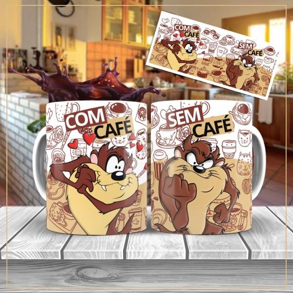 Caneca Com Café Sem Café de Personagens