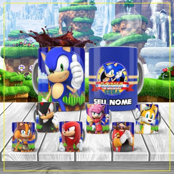 Caneca do Sonic