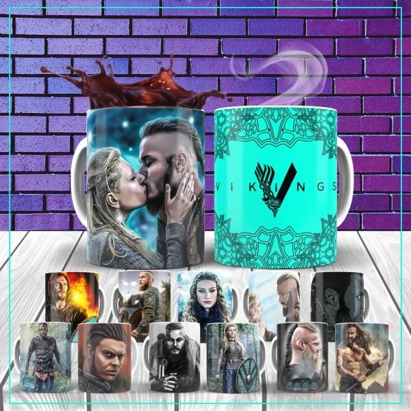 Caneca Vikings Série (Rascunho)
